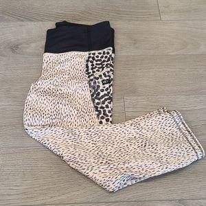 Lululemon Leopard Crops